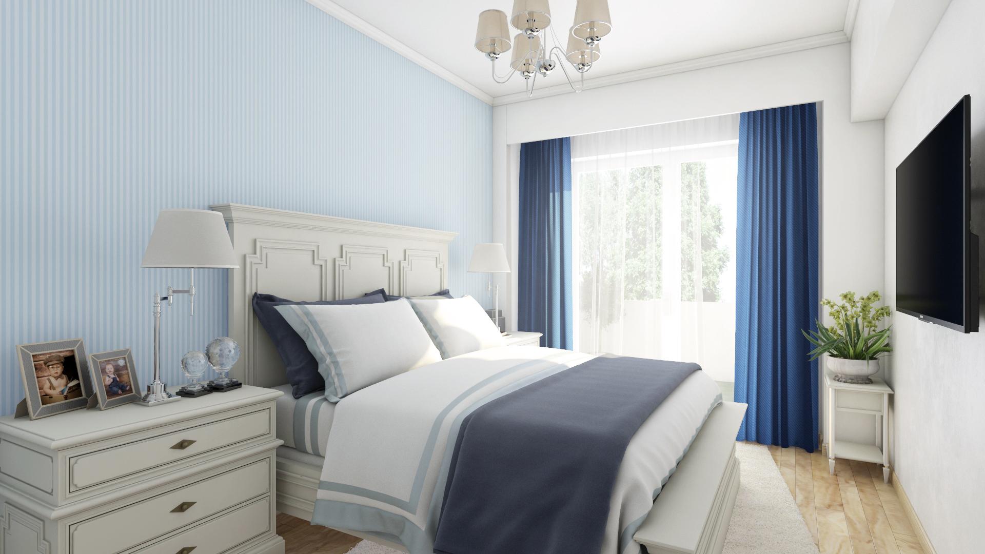 Apartament 2 camere tip C1-B - dormitor