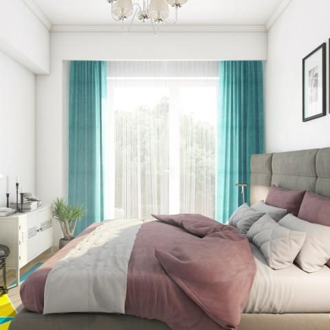 Apartament 2 camere - dormitor