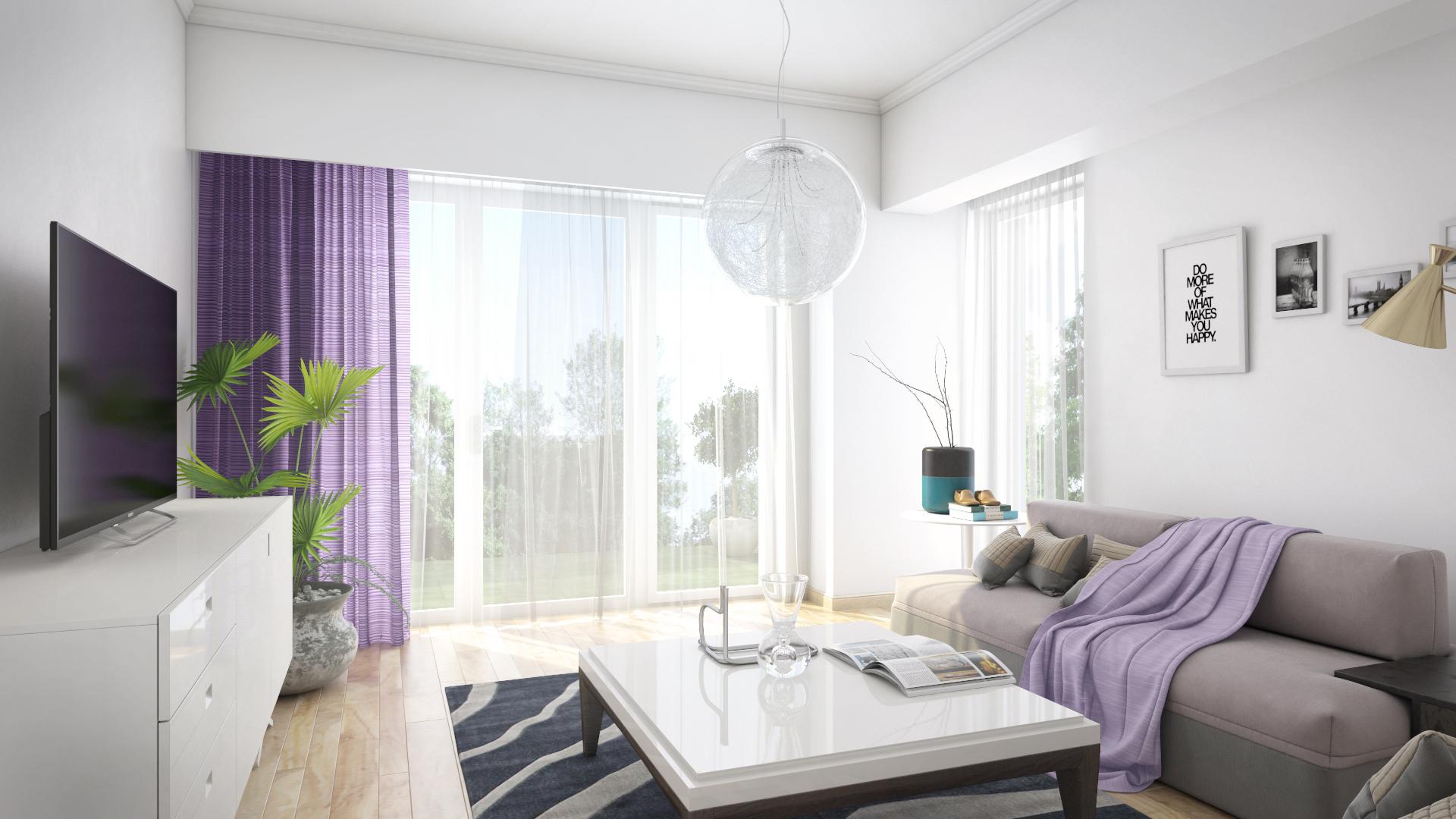 Apartament 2,5 camere tip C1-A - living