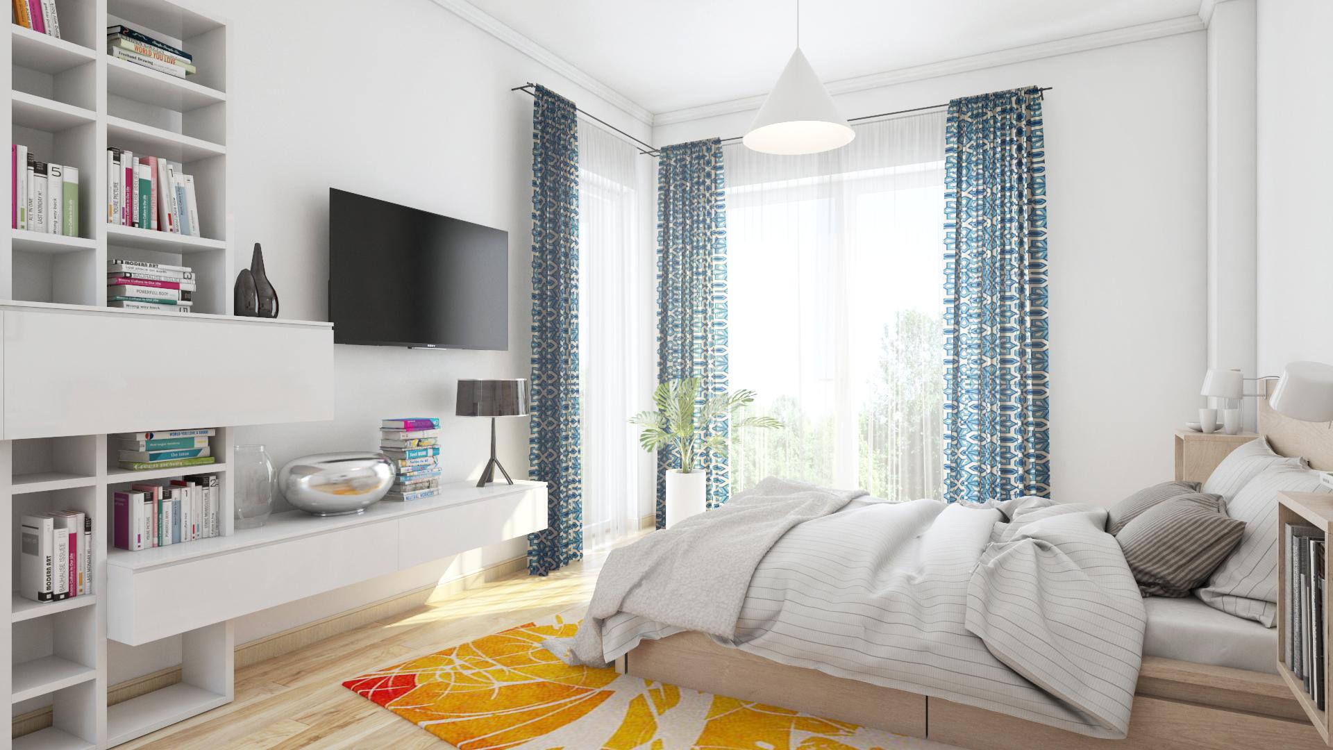 Apartament 3 camere C1-C - dormitor
