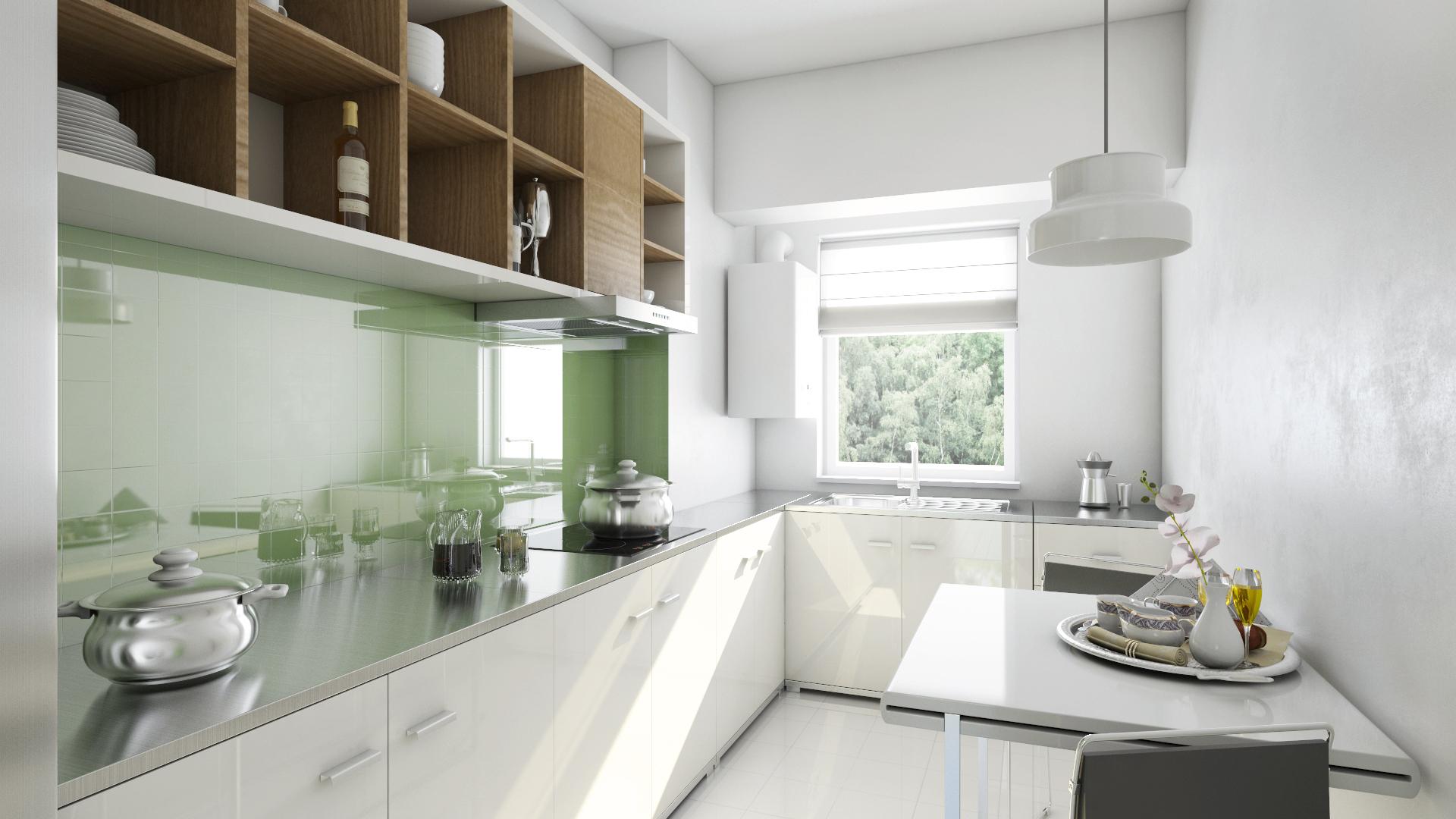Apartament 3 camere tip C1-A bucatarie