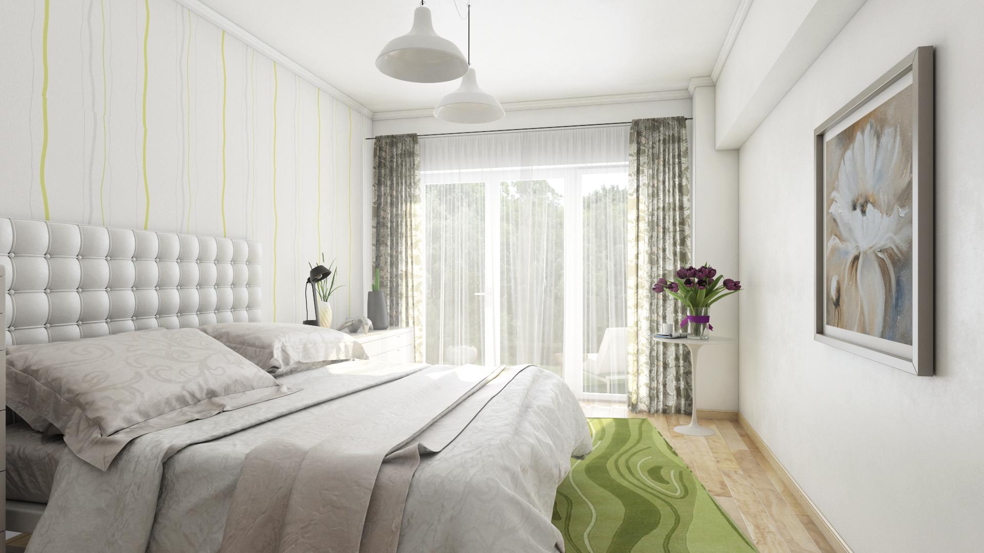 Apartament 3 camere tip C1-A dormitor