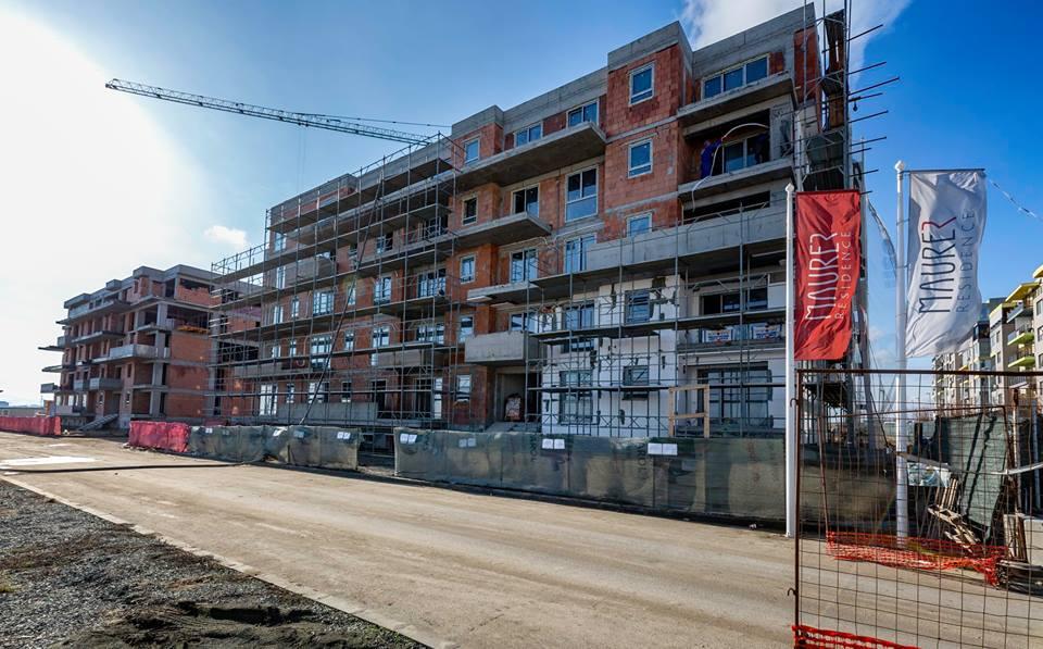 Constructie cladire apartamente