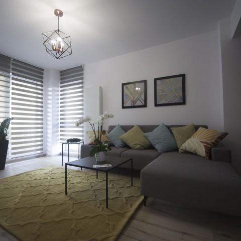 Apartament 3 camere - living