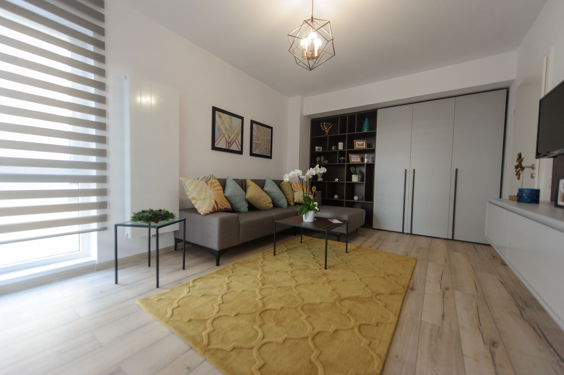 Apartament 3 camere - living 9