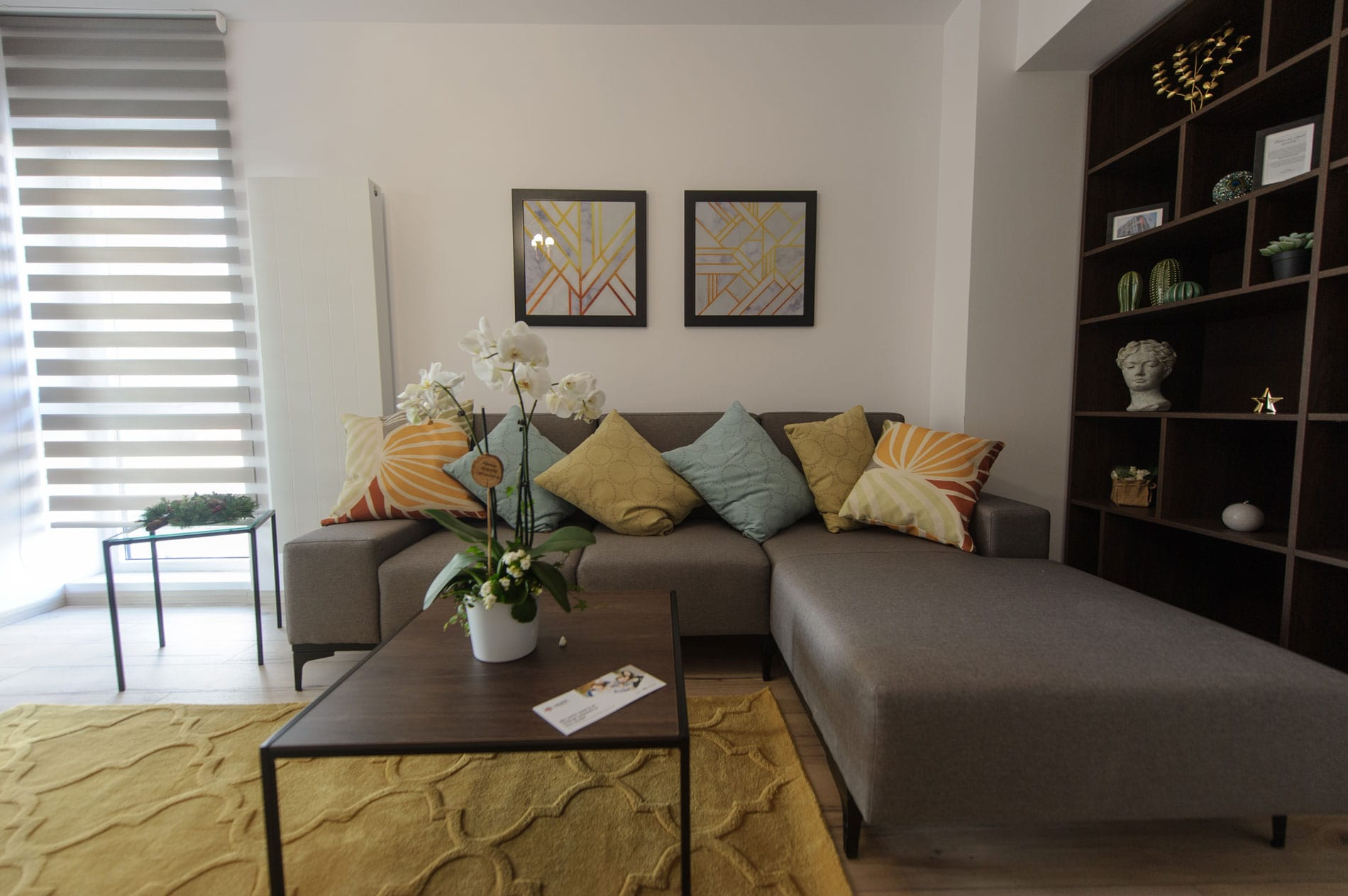 Apartament 3 camere - living 3