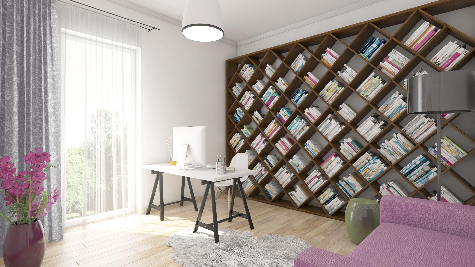 Apartament 2,5 camere tip C1-A - birou